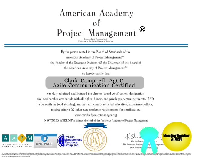 Certified Agile Project Manager